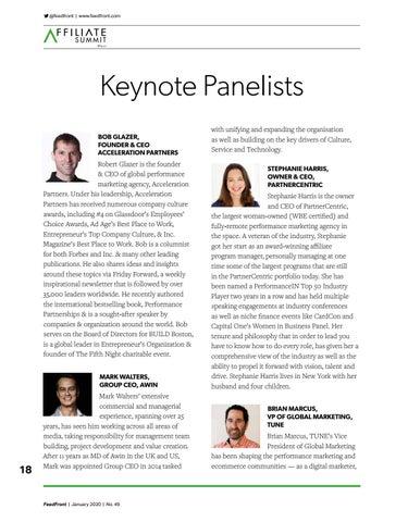 Page 18 of Keynote Panelists