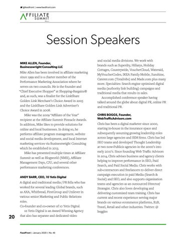 Page 20 of Session Speakers