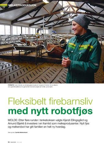 Page 16 of Fleksibelt liv med nytt robotfjøs