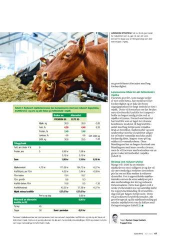 Page 47 of Fett betalt for melkefettet