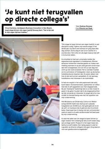 Page 14 of Afstuderen bij je eigen bedrijf