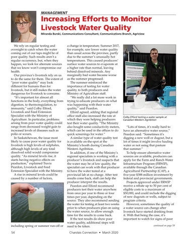 Page 54 of Increasing Efforts to Monitor Livestock Water Quality