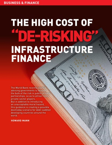 "Page 12 of The high cost of ""De-Risking"" infrastructure finance"