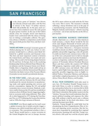 Page 45 of Four collision courses for the global economy