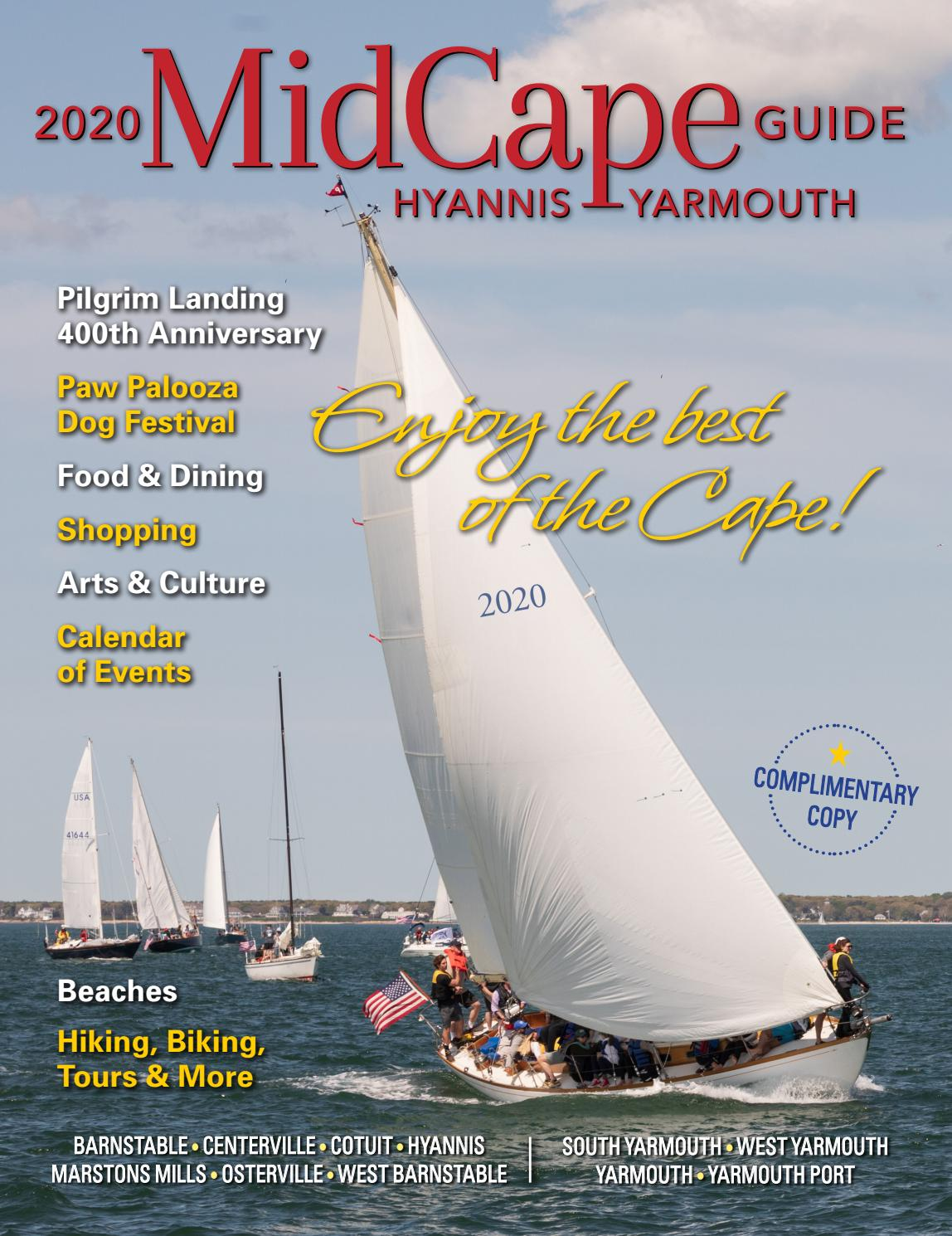 Yarmouthport Ma Christmas Stroll 2020 MidCape Guide 2020 by Alison Caron Design   issuu