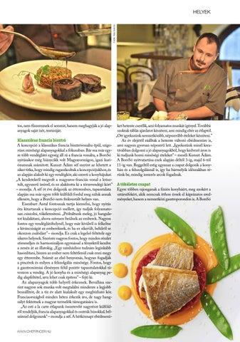 Page 41 of Helyek: BorsSó Bistro: Ahol a francia konyha megjelent hazánkban