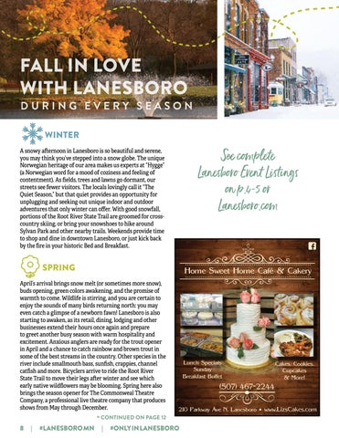 Page 8 of FALL IN LOVE WITH LANESBORO DURING EVERY SEASON