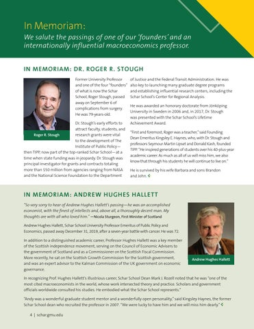 Page 4 of In Memoriam: Roger Stough, Andrew Hughes Hallett