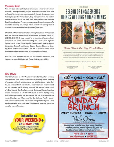 Page 53 of dining out
