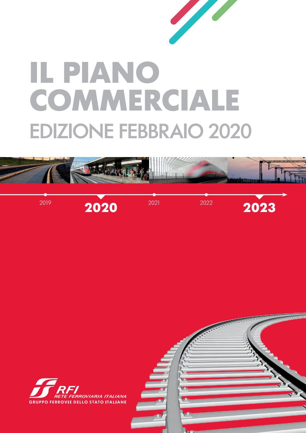 Cartina Ferroviaria Sicilia.Il Piano Commerciale Di Rfi Edizione Febbraio 2020 By Ferrovie Dello Stato Italiane Issuu