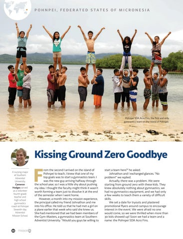 Page 30 of Kissing Ground Zero Goodbye