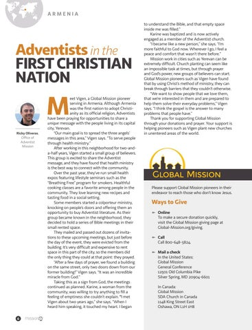 Page 6 of Adventists in the FIRST CHRISTIAN NATION