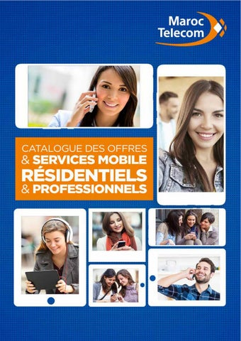Catalogue Maroc Telecom du 20 Décembre 2019 au 23 Mars