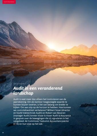 Page 22 of Audit in een veranderend landschap