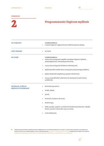 Page 13 of Programowanie i logiczne myślenie