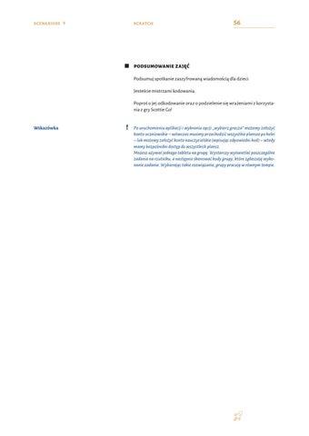 Page 58 of SCENARIUSZ 10. Kosmicznych przygód ciąg dalszy