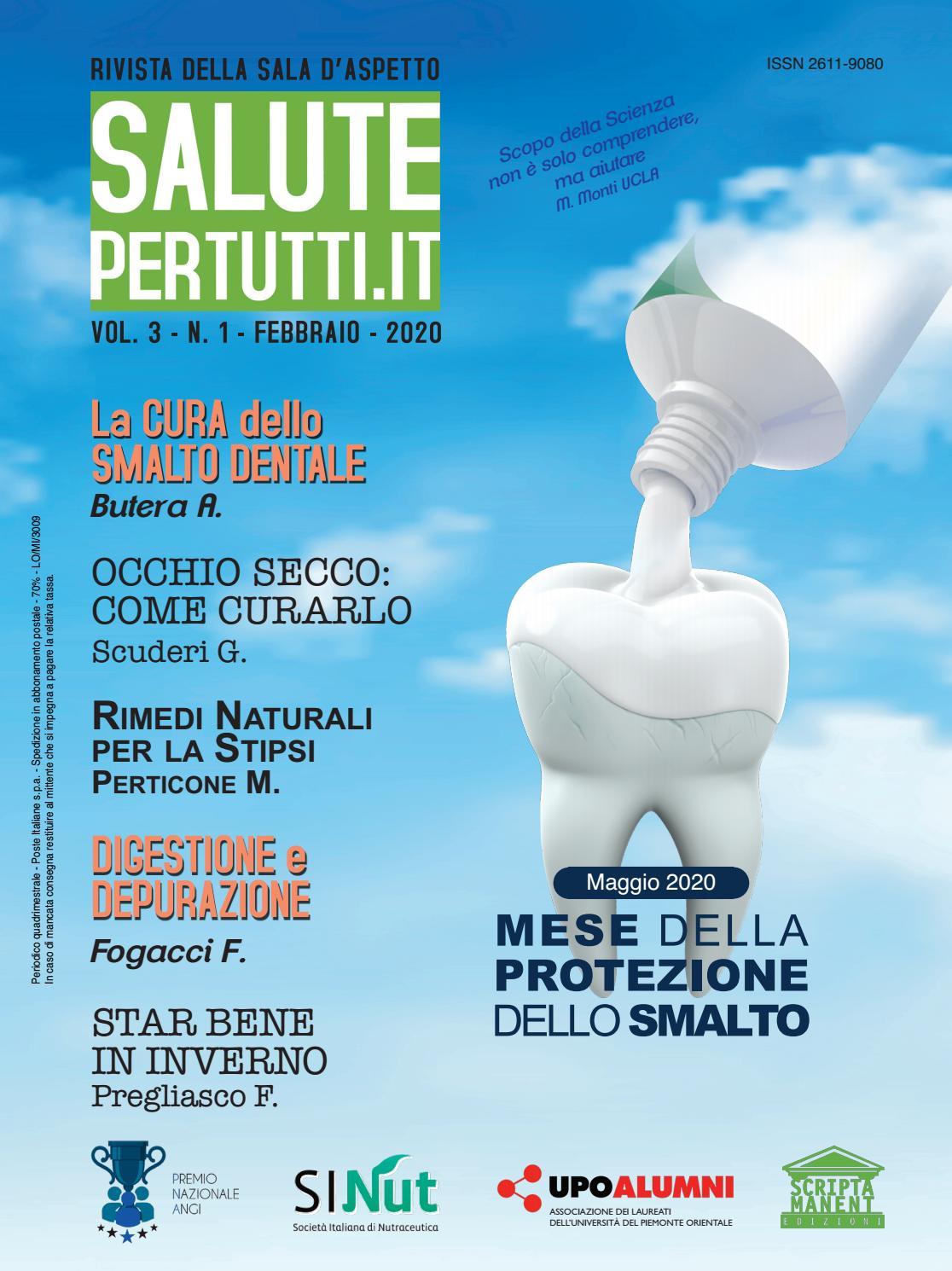 Salutepertutti It Vol 3 N 1 2020 By Edizioni Scripta Manent Issuu