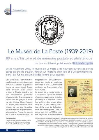 Page 10 of L'histoire du Musée de La Poste