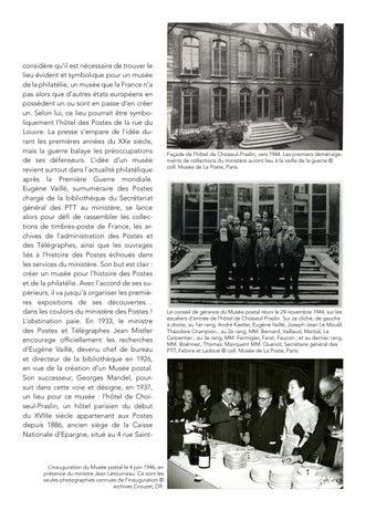 Page 11 of L'histoire du Musée de La Poste