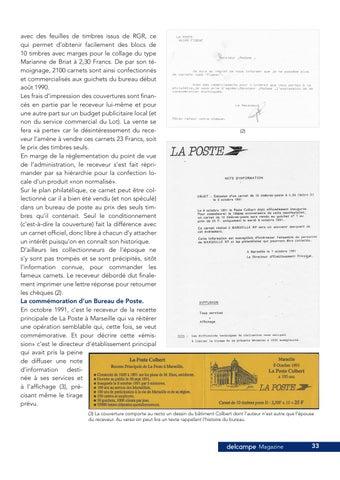 Page 33 of Le dessous des carnets