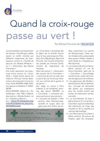 Page 44 of les vignettes Croix-Verte