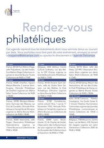 Page 8 of Rendez-vous philatéliques
