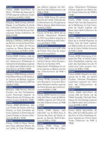 Page 9 of Rendez-vous philatéliques