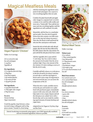 Page 17 of MEATLESS MAKEOVER