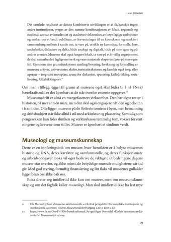 Page 19 of Museologi og museumskunnskap