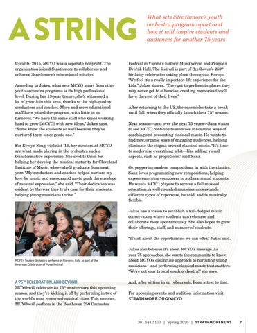 Page 7 of Maryland Classic Youth Orchestras Celebrates 75 Years