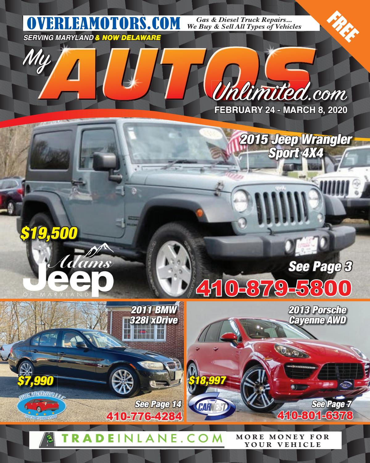 Autos Unlimited 2-24-20 By Autos Unlimited