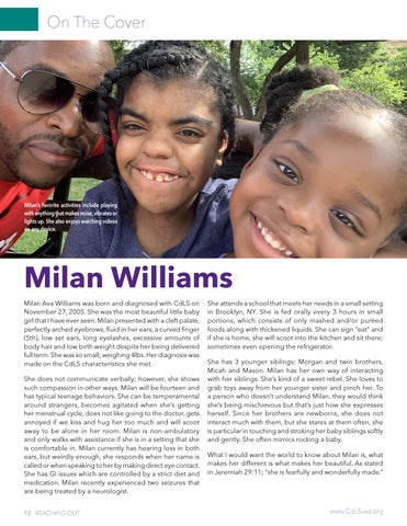 Page 12 of On the Cover Milan Williams