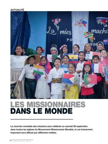 Page 18 of Actualité LES MISSIONNAIRES DANS LE