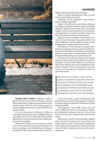 Page 23 of Jeunesse LES SYMPTÔMES DE LA