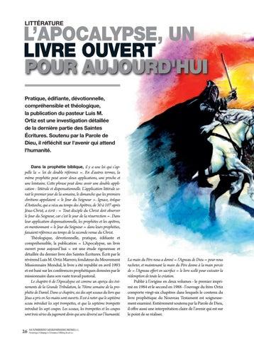 Page 26 of Littérature L'APOCALYPSE, UN LIBRE
