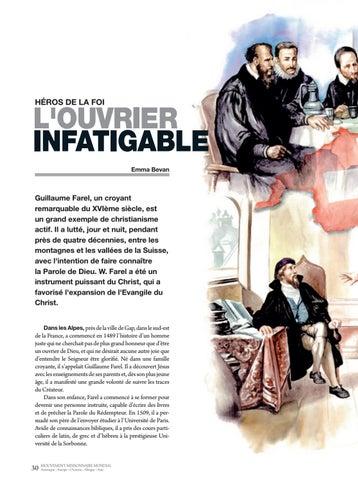 Page 30 of Héros de la foi L'OUVRIER INFATIGABLE