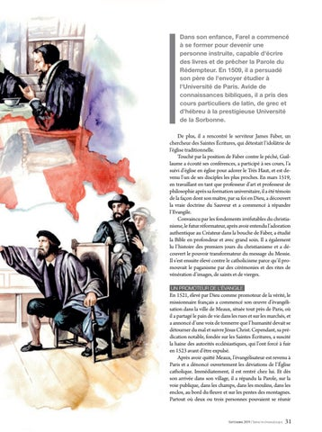 Page 31 of Héros de la foi L'OUVRIER INFATIGABLE