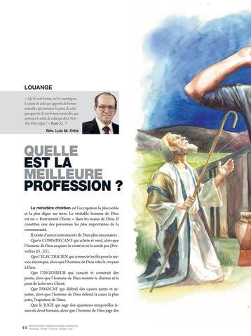 Page 44 of Louange QUELLE EST LA MEILLEURE