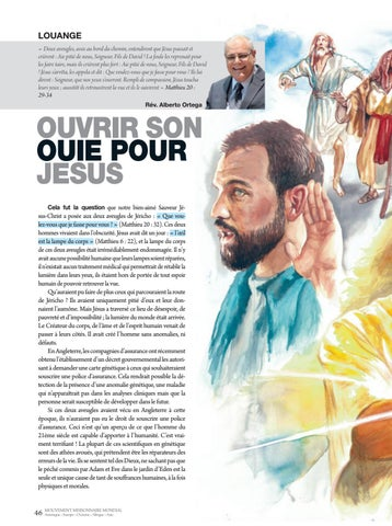 Page 46 of Louange OUVRIR SON OUIE POUR JESUS