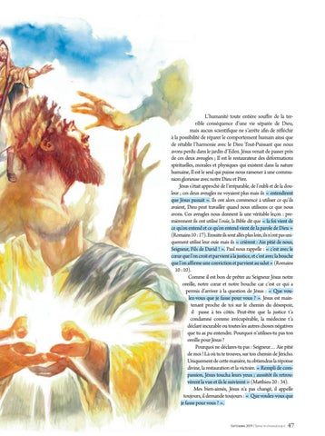 Page 47 of Louange OUVRIR SON OUIE POUR JESUS