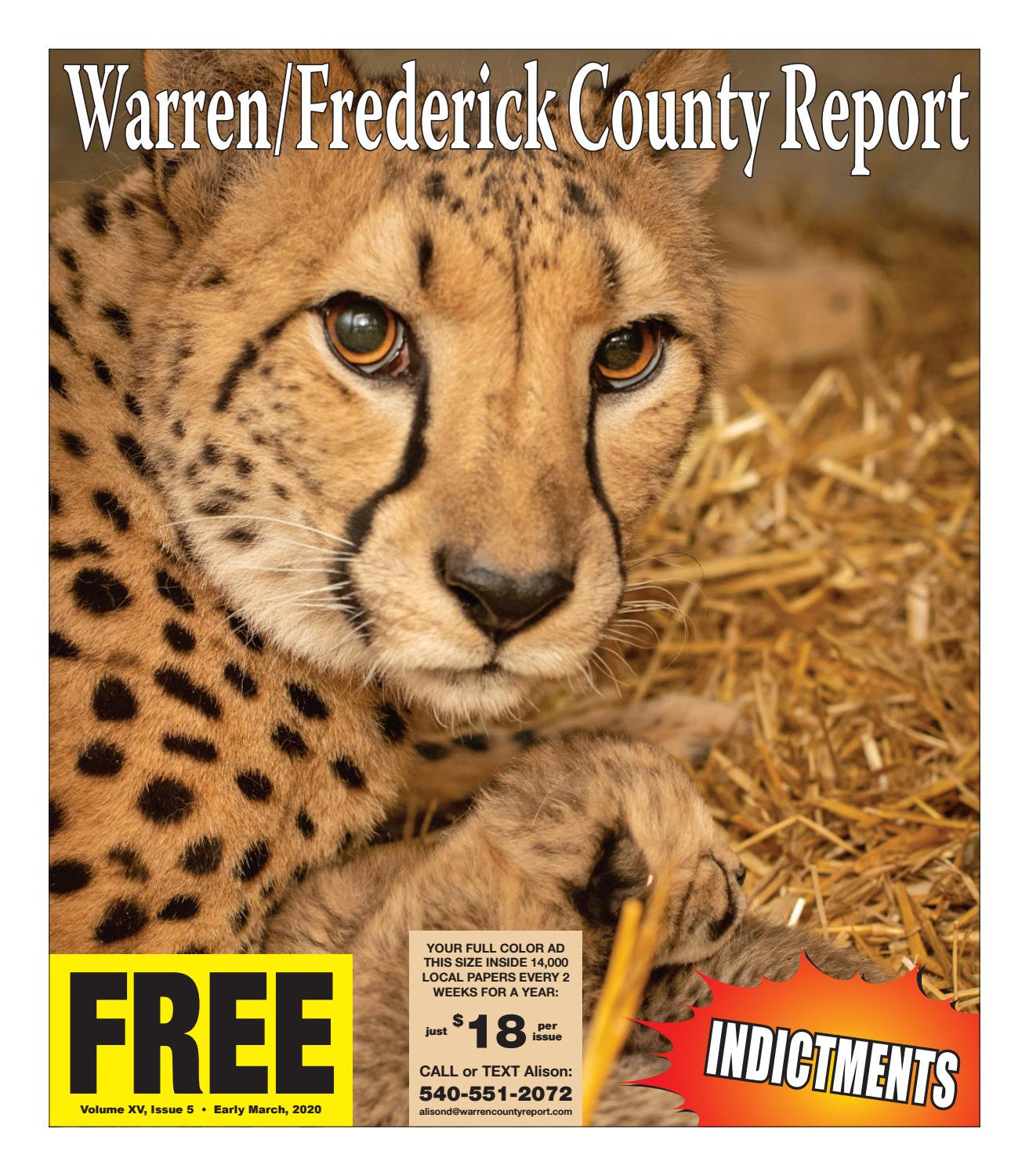 Early March 2020 Warren Frederick County Report By Warren Frederick County Report Newspaper Issuu