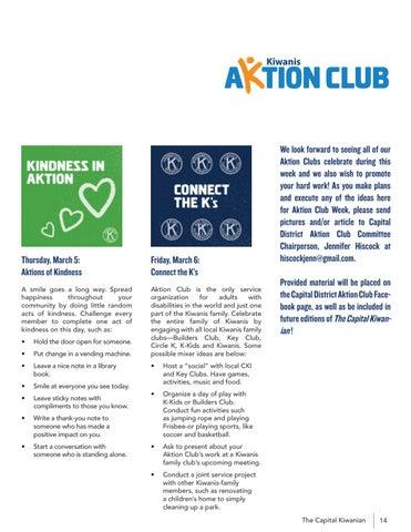 Page 15 of AKTION CLUB WEEK