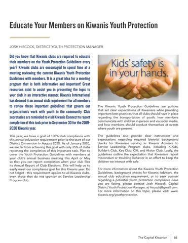 Page 19 of YOUTH PROTECTION