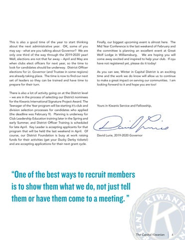 Page 5 of GOVERNOR'S MESSAGE