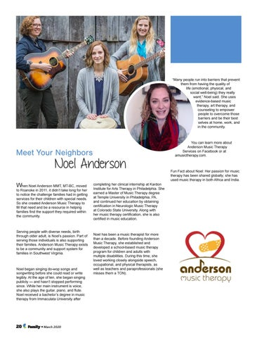 Page 20 of Meet Your Neighbors: Noel Anderson