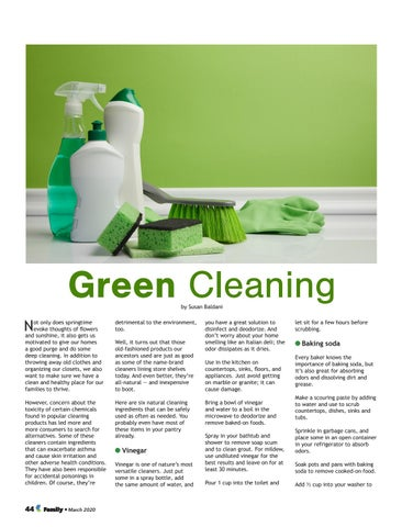 Page 44 of Green Cleaning