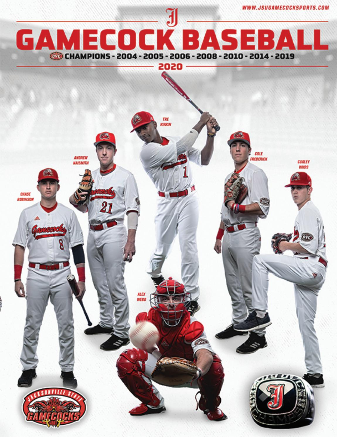 2020 Jacksonville State Baseball Media Guide By Jacksonville State Athletics Issuu