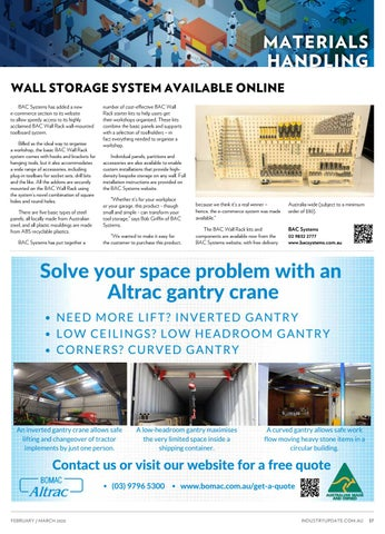 Page 37 of MATERIALS HANDLING