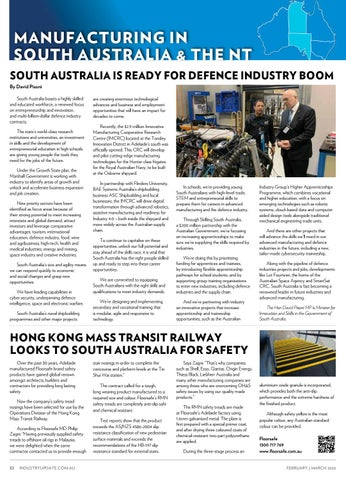 Page 52 of FOCUS ON MANUFACTURING IN SOUTH AUSTRALIA & THE NT