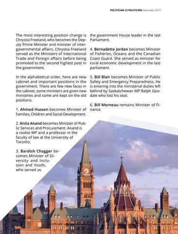 Page 13 of New Cabinet Sworn in Canada